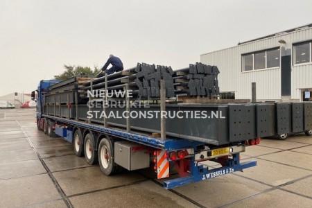 Project platdak constructie 17m laden