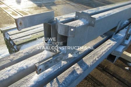 Tralieconstructie 12.80 x 44.00m (563m2)