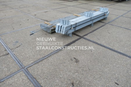 Mooie gebruikte staalconstructie 6.00 x 16.00m (96m²)