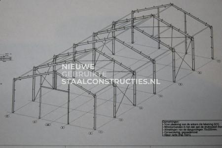 Nieuwe staalconstructie 12.00 x 30.00m (360m²)
