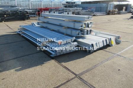 Nieuwe staalconstructie verzinkt 12.00 x 30.00m (360m²)