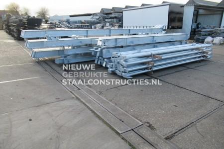 Nieuwe staalconstructie 16.00 x 40.00m (640m²)