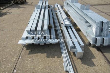 Nieuwe staalconstructie verzinkt 8.00 x 20.00m (160m²)