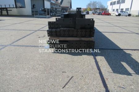 Z.G.A.N. staalconstructie 8.00 x 20.00m (160m²)